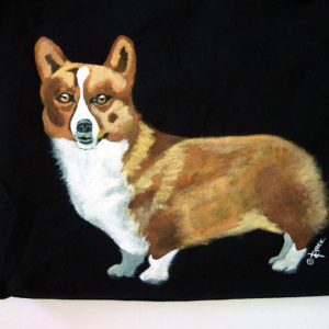 Corgi Dog Bag