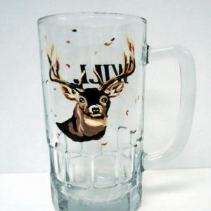 Deer Hunting Glass Mug