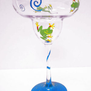 Frog Margarita Glass